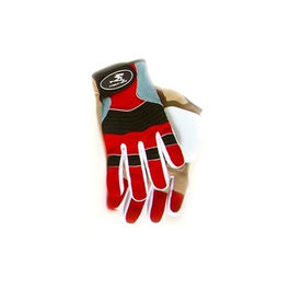 TIMESHIP RACING Guantes Freeride Rojo