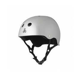 TRIPLE8 Casco Silver Metallic