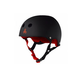 TRIPLE 8 Casco Black Rubber