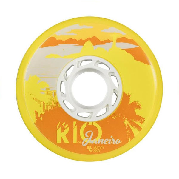 UNDERCOVER Powerblading Team Wheels Rio 80mm/88a