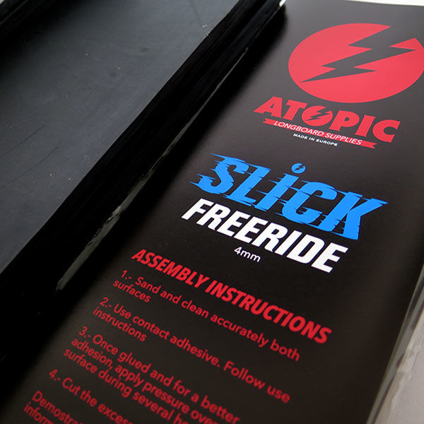 ATOPIC Suela de Frenada Slick Freeride 4mm