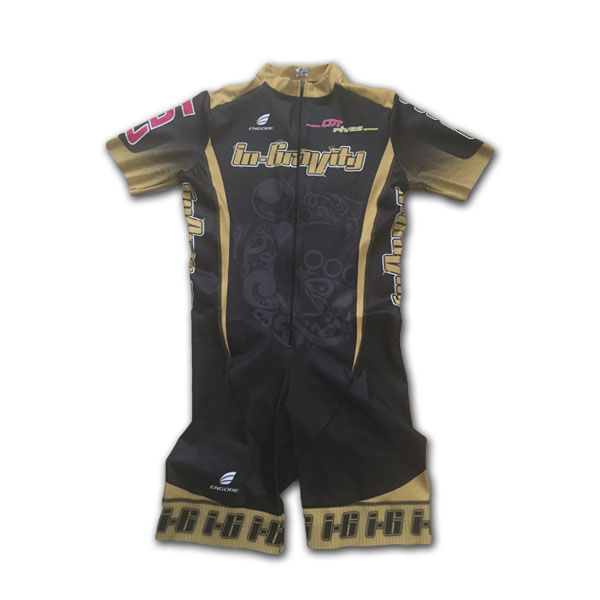 IN-GRAVITY Maillot Velocidad Manga Corta Gold
