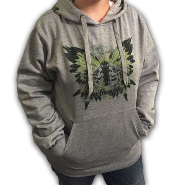 IN-GRAVITY Sudadera Butterfly Gris