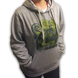 IN-GRAVITY Sudadera Skull Gris