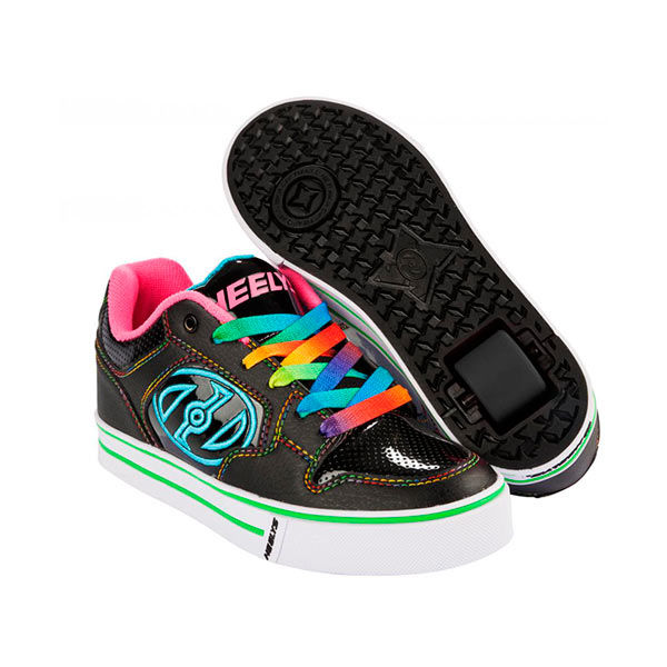 Heelys Motion Plus Negro/Rosa/Rainbow