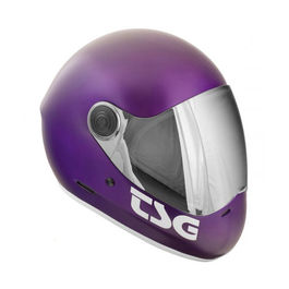 TSG Casco Integral Pass Satin Purple