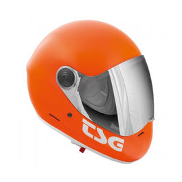 TSG Casco Integral Pass Satin Orange