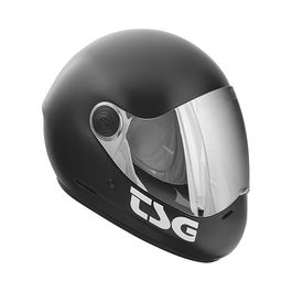TSG Casco Integral Pass Satin Black