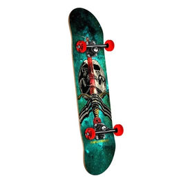 POWELL PERALTA Skull & Sword Cosmic Green 7.5