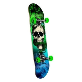 POWELL PERALTA Skull & Snake Green / Blue 7.6