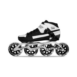BONT Pursuit Black / White 100 (Patín Completo)