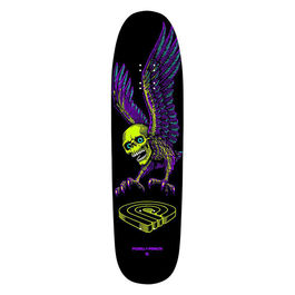 POWELL PERALTA Winged Skull 8.75 Lime / Purple