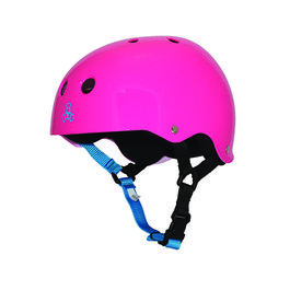 TRIPLE8 Casco Neon Fuschia Gloss