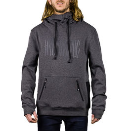 HYDROPONIC Sudadera DH Hi-Fi Heather Black