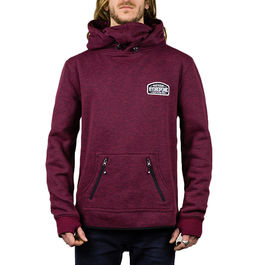 HYDROPONIC Sudadera Snow Heather Burgundy