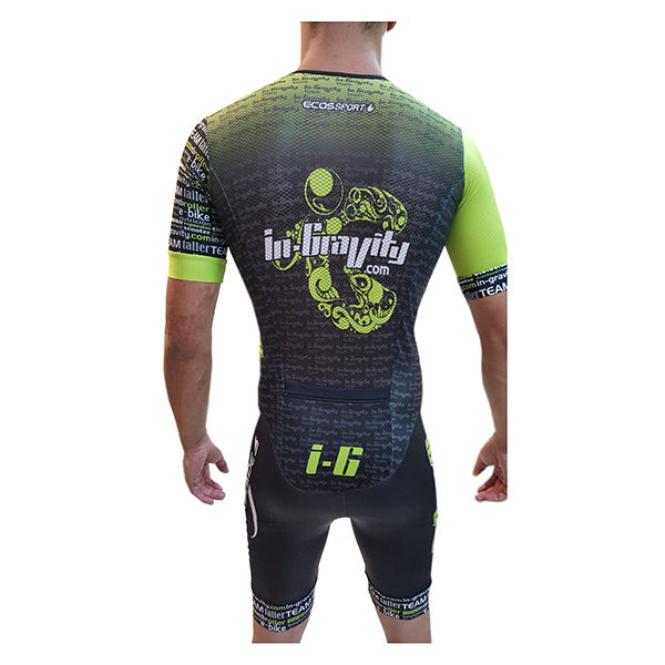 IN-GRAVITY Rollerblade Maillot Velocidad Manga Corta