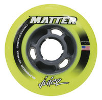 MATTER Ruedas Juice Solid Core F1r Amarillas 84mm