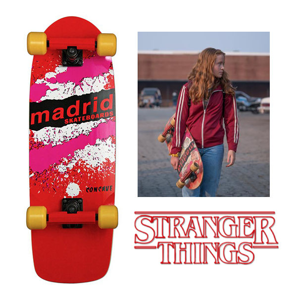 MADRID SKATEBOARDS X Stranger Things Madmax Official Replica