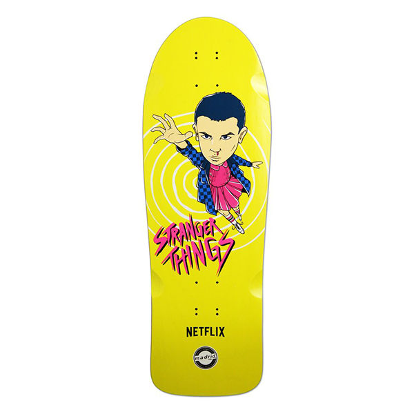 MADRID SKATEBOARDS X Stranger Things Eleven Yellow