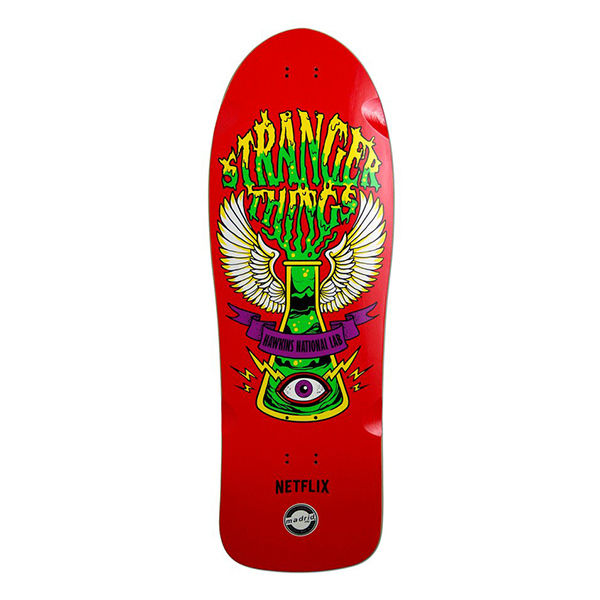 MADRID SKATEBOARD X Stranger Things Hawkins Lab