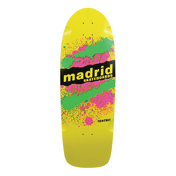 MADRID SKATEBOARDS Explosion OG Yellow