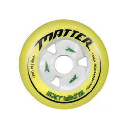 MATTER Rueda Super Juice F1 Amarillo / Blanco 84mm