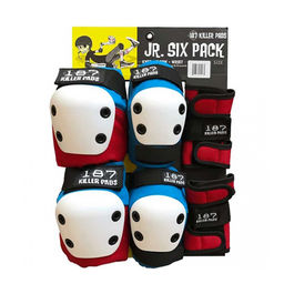 187 Six Junior Pack Red White Blue