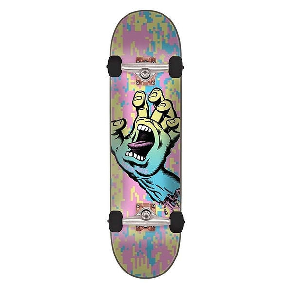 SANTA CRUZ Screaming Hand Camo 8.0