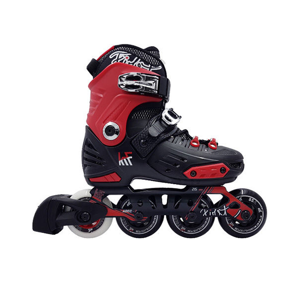 KRF Freeskate First 2019 Negro / Rojo