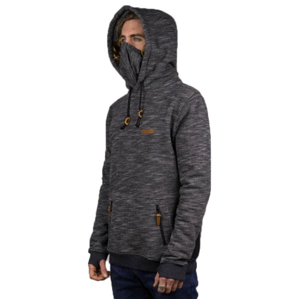 HYDROPONIC Sudadera DH Parkside Heather Black