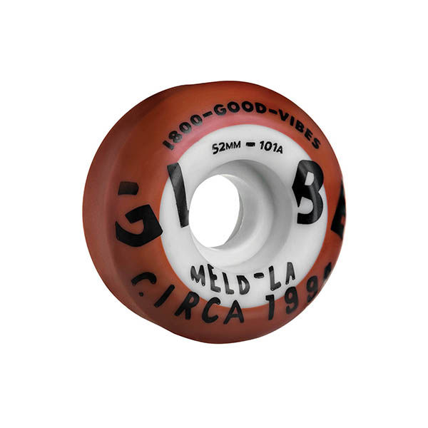 GLOBE Good Vibes Dual Pour Oxide / White 52mm 101A
