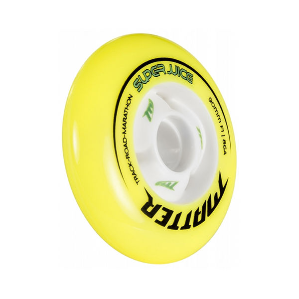 MATTER Ruedas Super Juice F1 Amarillo / Blanco 90mm