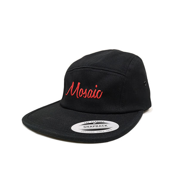 MOSAIC Gorra Snapback Black / Red