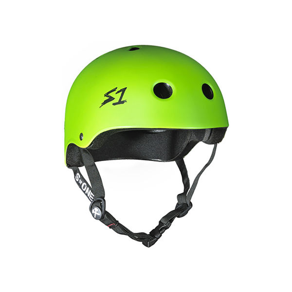 S ONE Helmet Lifer Bright Green