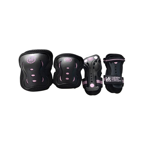 KRF JR Protections Black / Pink