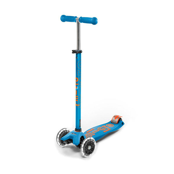 MICRO Patinete Scooter Maxi Deluxe Led Caribe