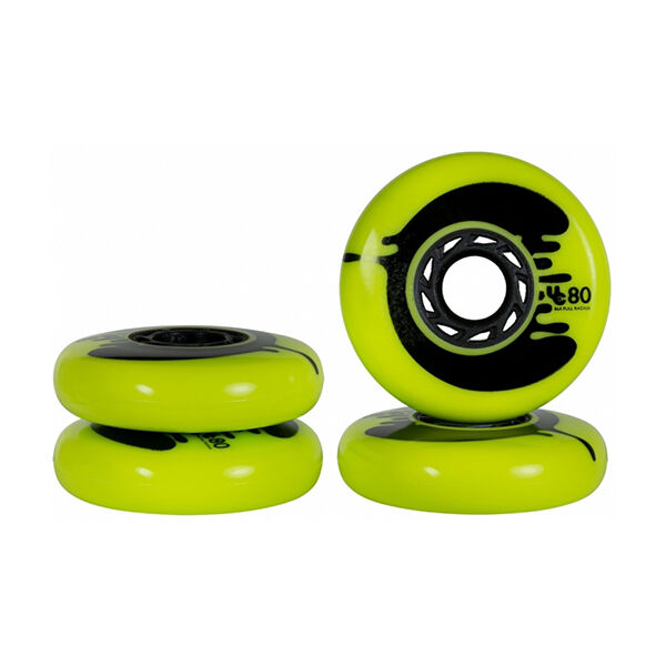 UNDERCOVER Ruedas Cosmic Roche 80mm 86a Yellow PR (full radius)