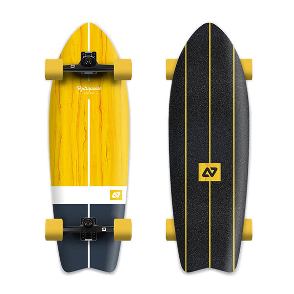 HYDROPONIC SurfSkate Completo Vintage Yellow 31