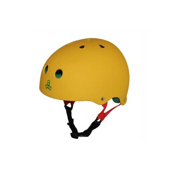 TRIPLE8 Casco Rasta Amarillo