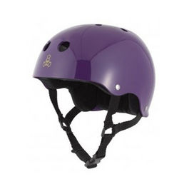 TRIPLE8 Casco Purple Gloss