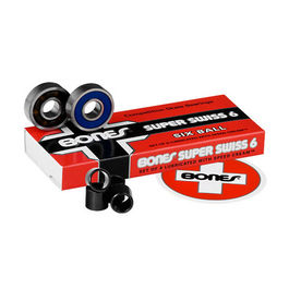 BONES Super Swiss 6 Balls (Pack 8)