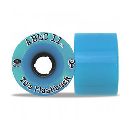 ABEC11 Flashbacks Blue 70mm 81a