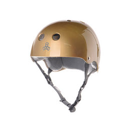 TRIPLE8 Casco Gold Gloss